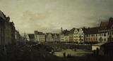 Dresden / Old Market / Canaletto