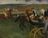 E.Degas / Racecourse / c.1877-80