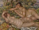 A.Renoir / Bathers / 1918-19 / DETAIL