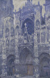 Monet / Rouen Cathedral / Harmonie grise / DETAIL