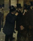 Edgar Degas, Portraits a la Bourse /1878