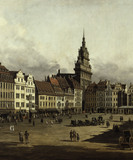 Dresden, Old Market / Bellotto / DETAIL