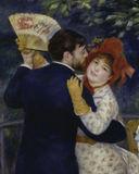 A.Renoir / Country dance / 1883 / DETAIL