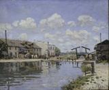 A.Sisley / Saint-Martin Canal / 1872