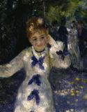 A.Renoir / The Swing / 1876 / DETAIL