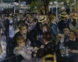 A.Renoir, Moulin de la Galette / DETAIL