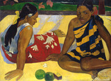 P. Gauguin / Two Tahiti Women / 1892