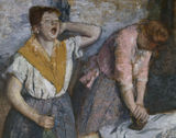 Edgar Degas / The Laundresses / DETAIL