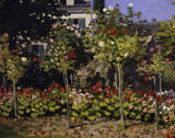 C.Monet / Garden in bloom / DETAIL