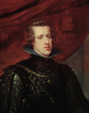 Philipp IV of Spain / Rubens painting