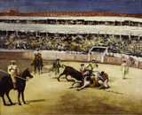 Manet / Bullfight / 1865/66