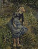 C.Pissarro, Jeune Fille a la Baguette