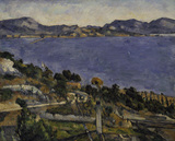 Paul Cezanne / L'Estaque / 1878/79
