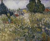 van Gogh / M. Gachet in her Garden