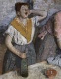 Edgar Degas / The Laundresses / DETAIL