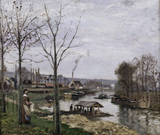 Pissarro / Port-Marly / 1872           .