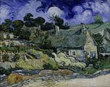 Van Gogh / Houses in Cordeville / 1890