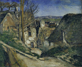 Cezanne /House of the hanged man /c.1872