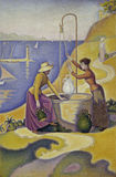 P.Signac / Women at the well / 1892