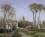 C.Pissarro / Entrance to Voisins / 1872