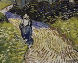 Van Gogh/ Church in Auvers-sur-Oise/1890 / DETAIL