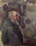 Paul Cezanne / Self-portrait with hat