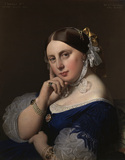 Ingres / Madame Ingres / Painting / 1859