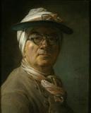 Chardin / Self-portrait with Glasses