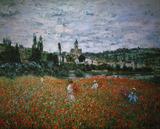 Claude Monet / Poppy field near Vetheuil