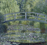 Monet / Water Lily Pond, Verte / 1899