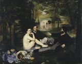 Edouard Manet/ Dejeuner sur l'herbe/1863