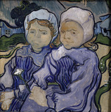 Van Gogh / Two children / 1890