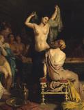 Theodore Chasseriau, Tepidarium / 1853 / DETAIL