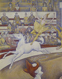 G.Seurat / The Circus / 1891 / DETAIL