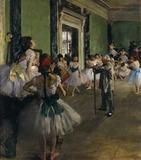 Edgar Degas, La classe de danse /1873-76