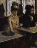 E.Degas / The Absinthe / 1876 / DETAIL