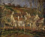 Pissarro / Les toits rouges ... / 1877