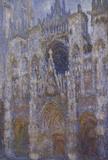 Monet / Rouen Cathedral sunlight / 1894