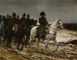 French Campaign / 1814 / Meissonier / DETAIL