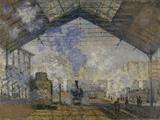 Monet / Gare Saint-Lazare / 1877