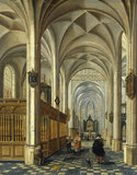 P.Neefs, Interior of a Church, 1625.