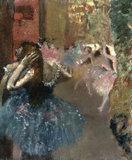 E.Degas, Scene de Ballet, c.1893.