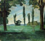 P.Cezanne, Paysage.