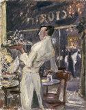 M.Slevogt, Cafe Waiter, 1907.