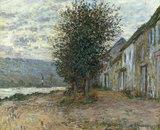C.Monet, Bord De La Seine A Lavcourt