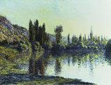 C.Monet, La Seine a Vetheuil', 1881.