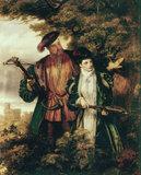 W.Frith, Henry VIII & Anne Boleyn.