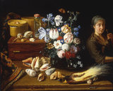 P.Snyers, Still Life of Flowers.