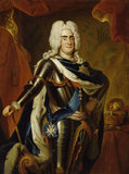 L.de Silvestre, Augustus II.
