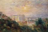 P.Renoir, Vue de Montmartre, 1885.